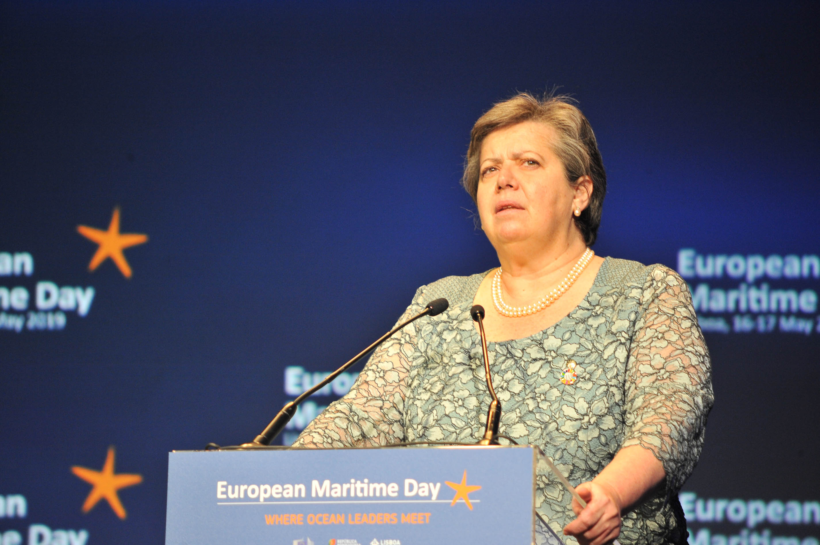 Abertura do European Maritime Day