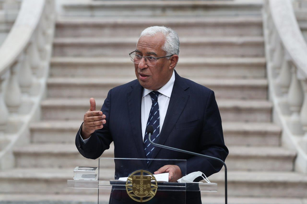 Primeiro-Ministro António Costa faz declaração sobre o envio de diplomas aprovados pelo Parlamento ao Tribunal Constitucional, Lisboa, 31 março 2021