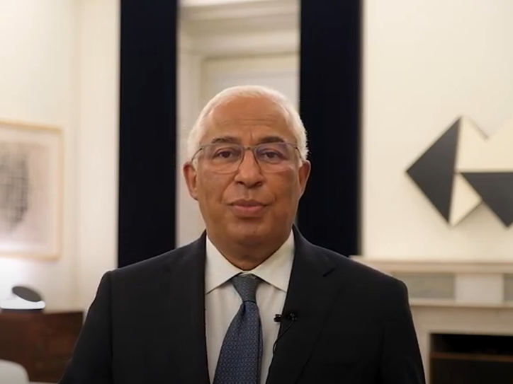 Primeiro-Ministro António Costa intervém no evento COVAX AMC, 15 abril 2021 / Speech by the Prime Minister António Costa at COVAX AMC, 15th abril 2021
